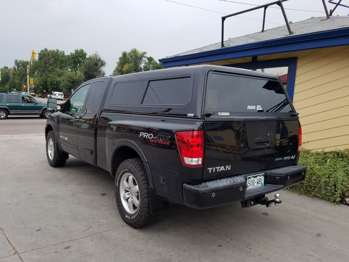 2010 Nissan Titan Are V Series G10 Suburban Toppers