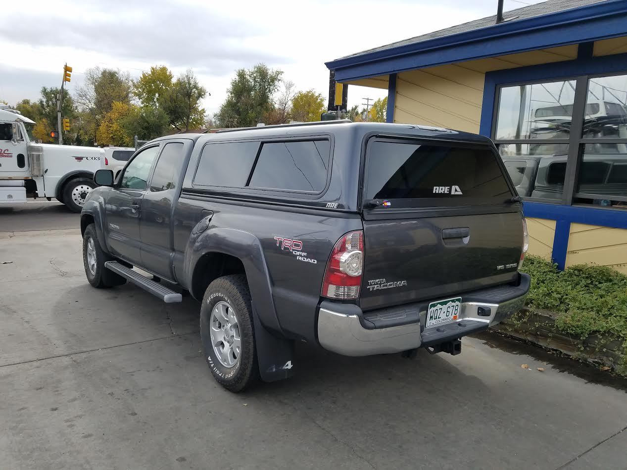 Nissan Colorado Springs >> 05-15 Tacoma, ARE V-Series, Gray - Suburban Toppers