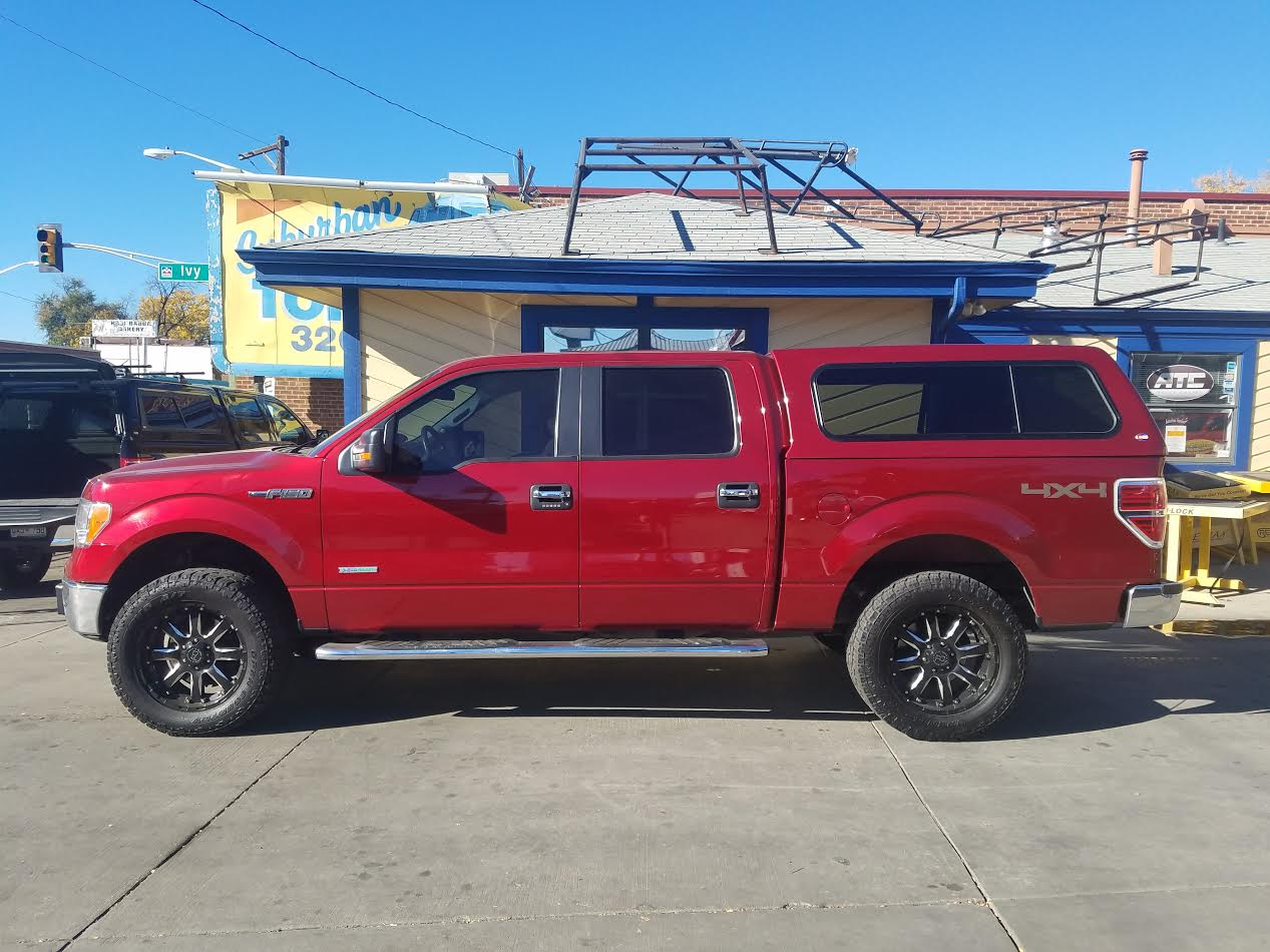 2016 F 150 Ruby Red Atc Colorado Suburban Toppers