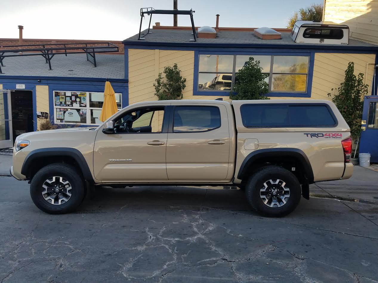 Colorado Springs Toyota >> 2017-tacoma-quicksand-are-v-series-topper - Suburban Toppers
