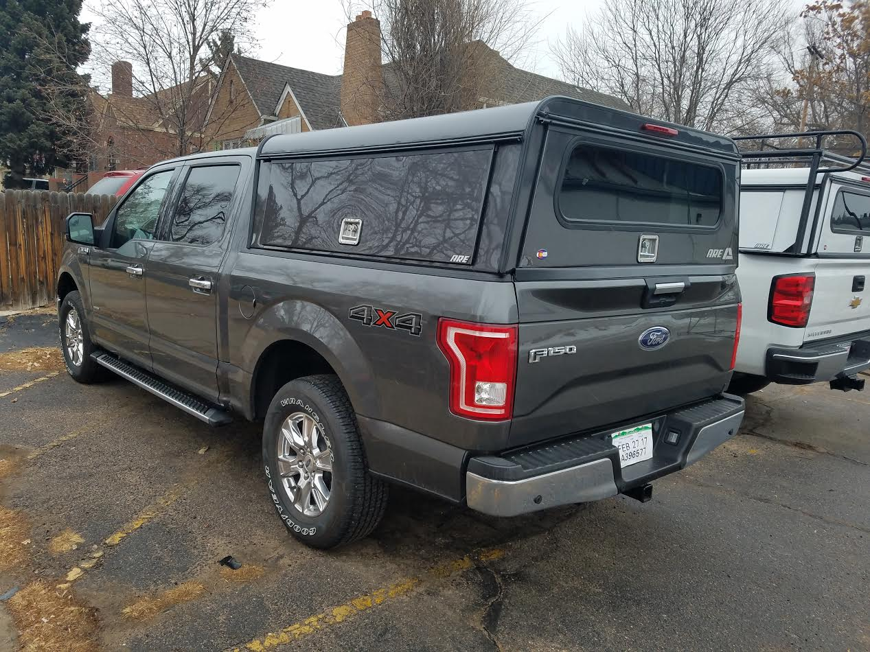 Nissan Colorado Springs >> 2016 F150, J7 Gray, ARE DCU - Suburban Toppers
