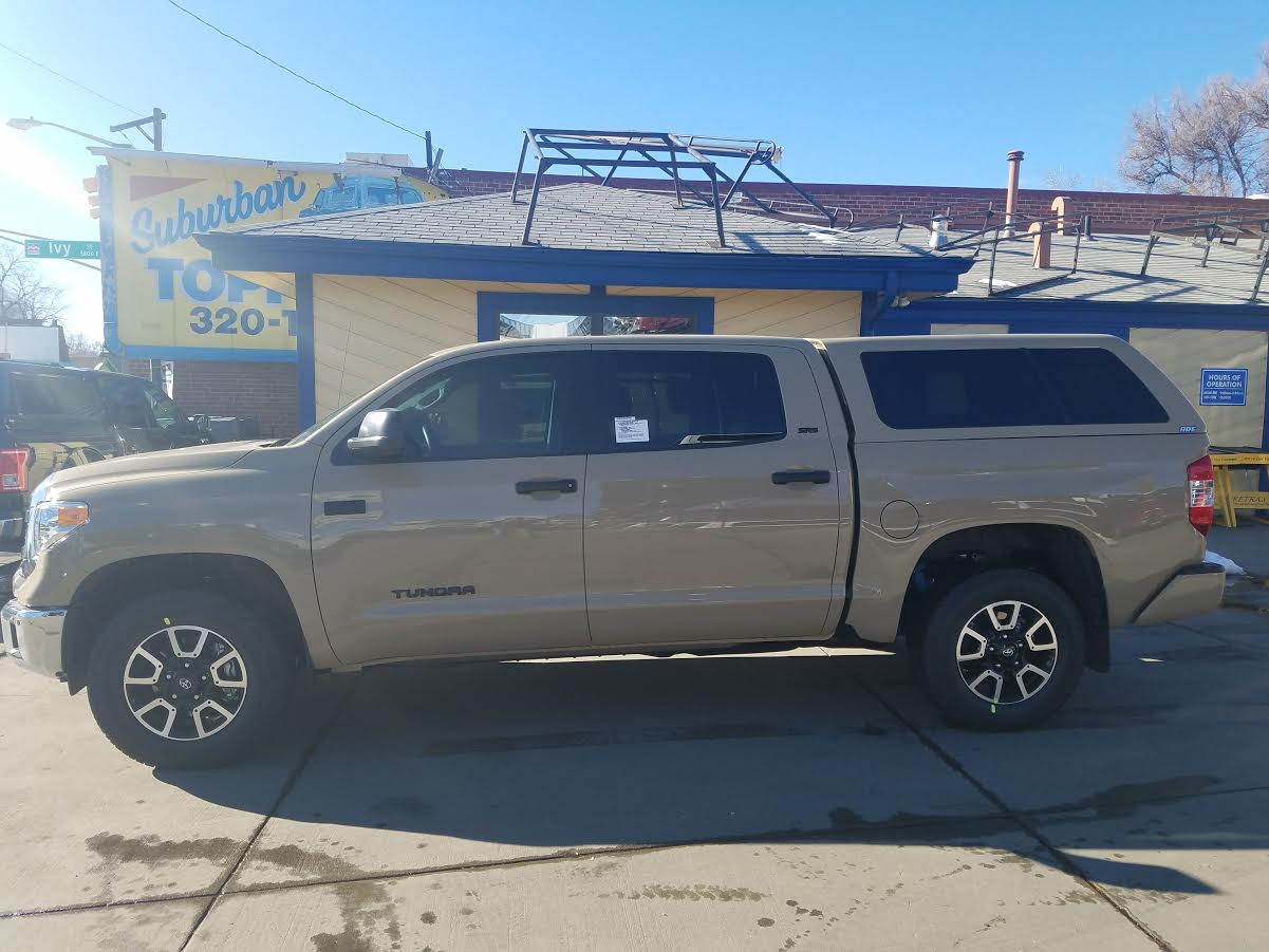 Colorado Springs Dodge >> 2017 Tundra Quicksand, ARE Z-Series - Suburban Toppers