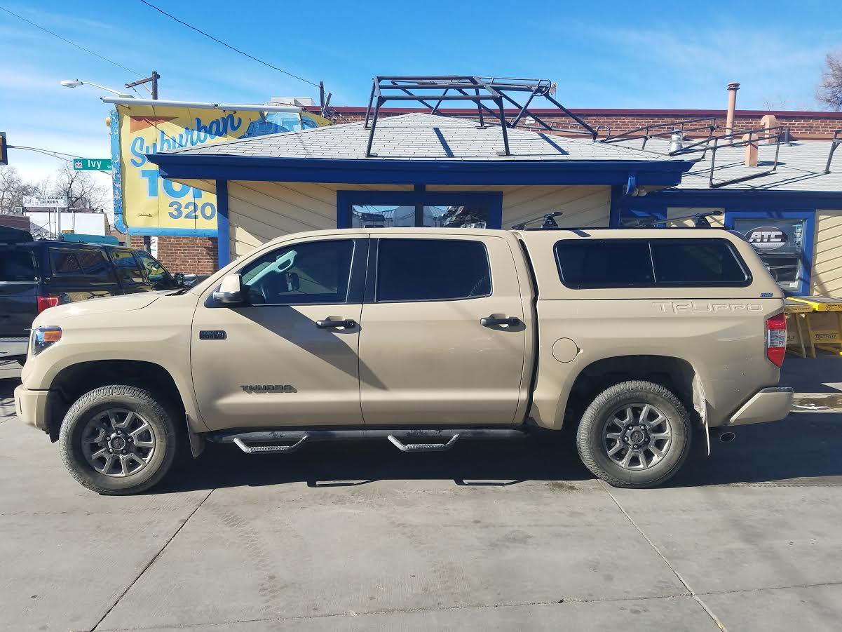 Toyota Tacoma Topper >> 2016 Tundra, V-Series, Yakima Core Bars - Suburban Toppers