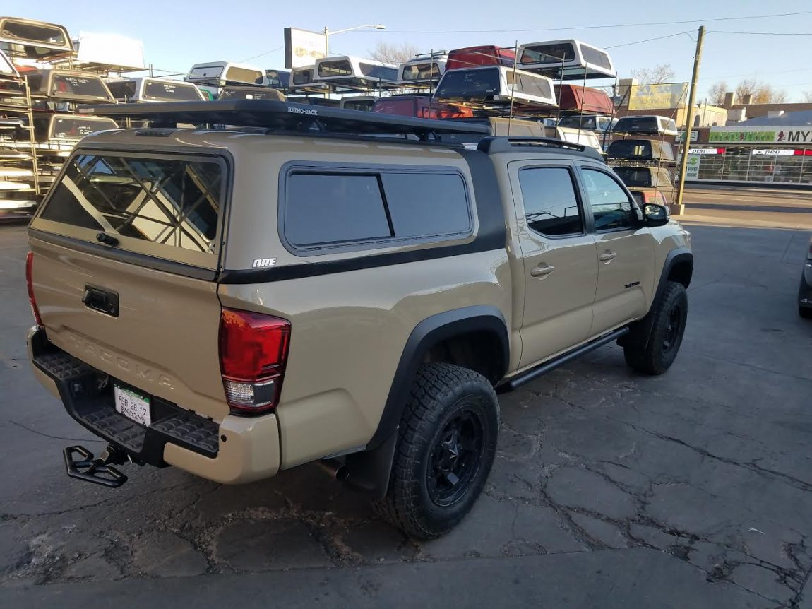 2017 Tacoma Overland Are Topper Rhino Rack Roof Rack