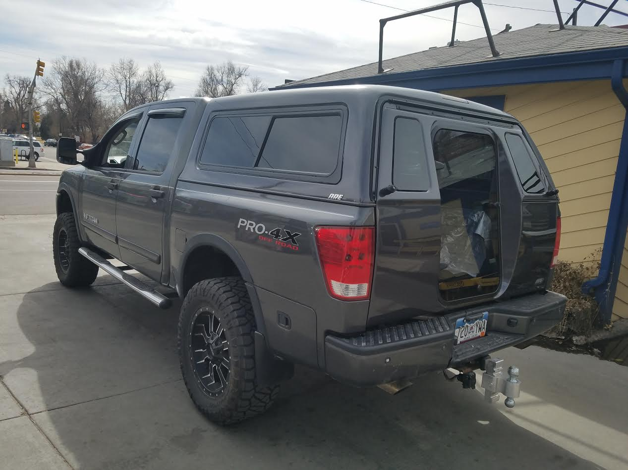 2008 Nissan Titan Acx Series Full Walk In Rear Door