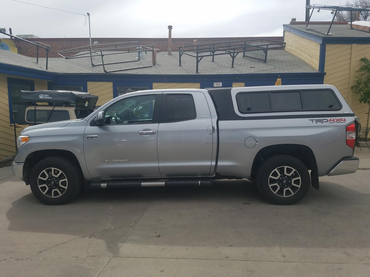 2017 Tundra Overland Vented Windoors Suburban Toppers