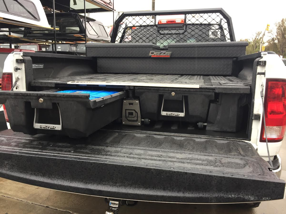 Toolbox Amp Decked Drawer System Suburban Toppers