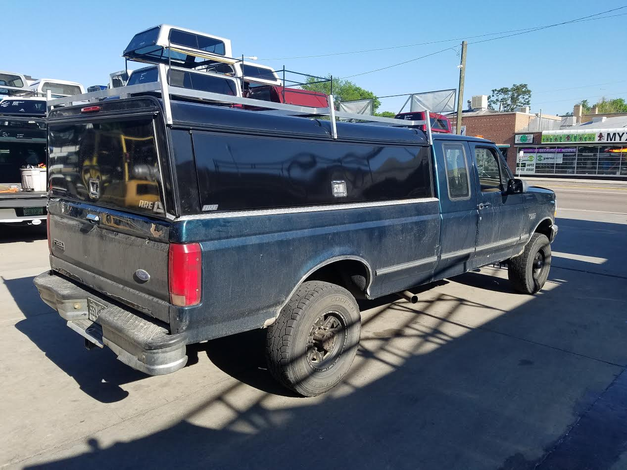 Used  Ford F Truck Bed