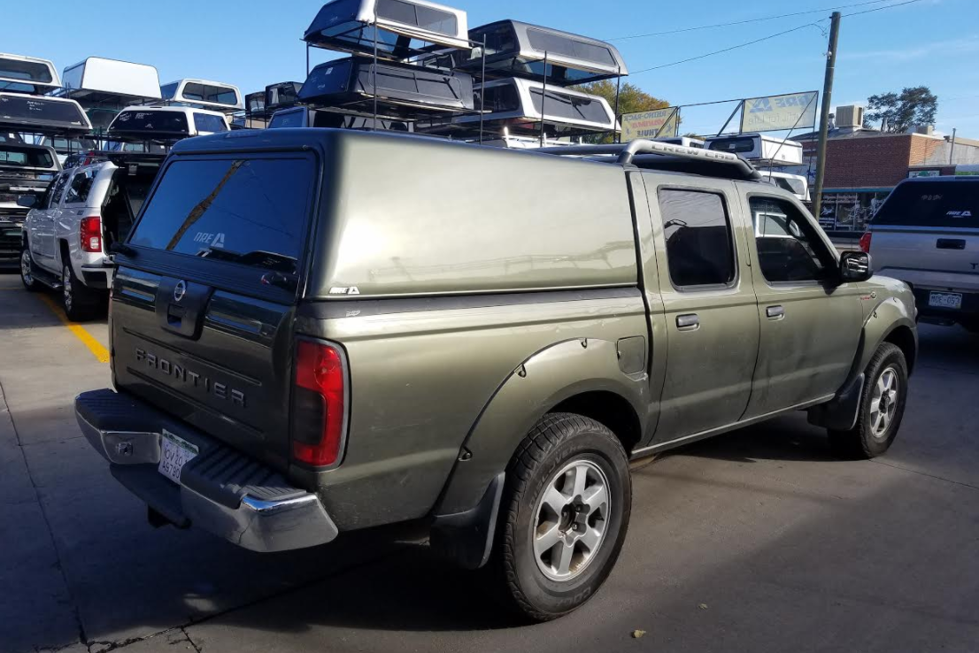 Colorado Springs Dodge >> 2003 Nissan Frontier, V-Series, No Side Windows - Suburban Toppers