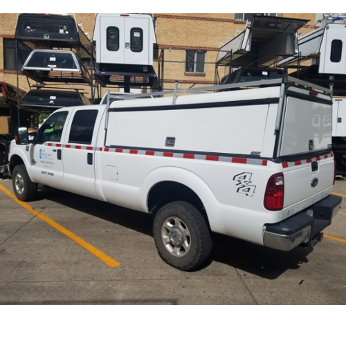 2008 2016 Ford Superduty Used Commercial Truck Topper ARE