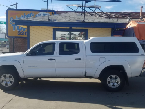 Toyota Tacoma Topper For Sale >> Tacoma Suburban Toppers