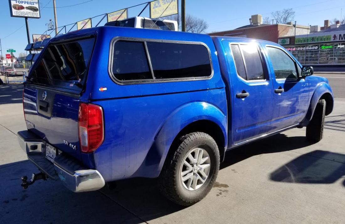 2014 Nissan Frontier, ATC Colorado - Suburban Toppers
