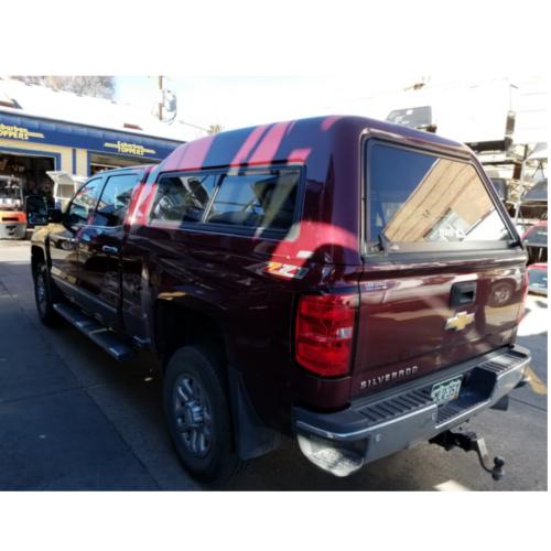 Chevrolet Camper Shell: 14-18 Chevy/ GMC 6.5' MX-Series