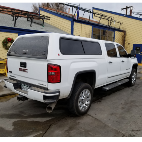 2017-gmc-sierra-used-leer-camper-shell-white-broomfield-co ...