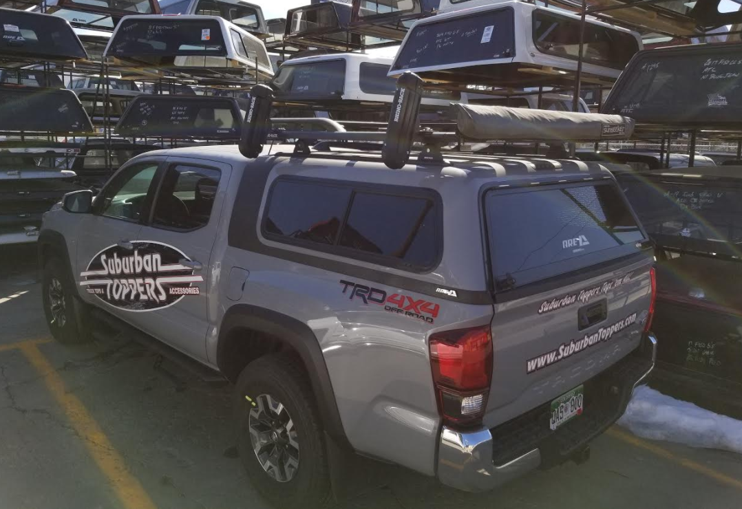 2018 Tacoma Are Overland Rhino Pioneer Suburban Toppers