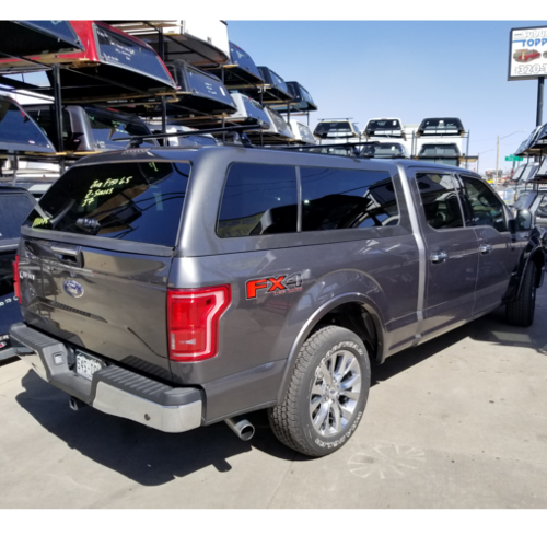 2018 Ford F 150 Used Topper Are Z Series J7 Magnetic Golden Co