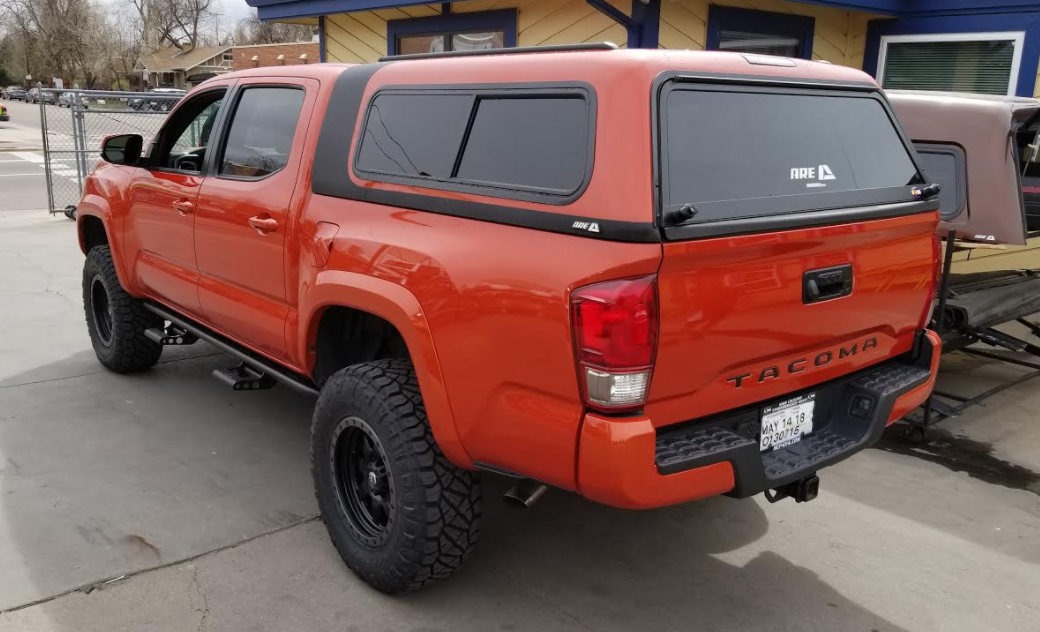 Colorado Springs Dodge >> 2018 Tacoma, ARE Overland, Inferno - Suburban Toppers