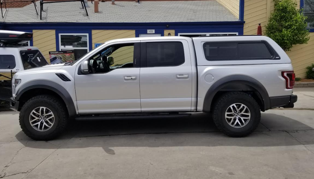 Toyota Tacoma Topper >> 2018 Ford Raptor, ARE Z-Series - Suburban Toppers