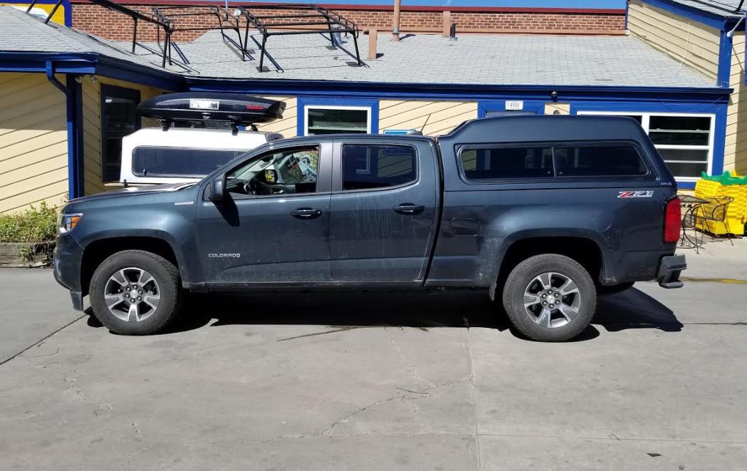 Chevy Colorado Springs >> 2018 Chevy Colorado Are Mx Series Truck Topper Colorado