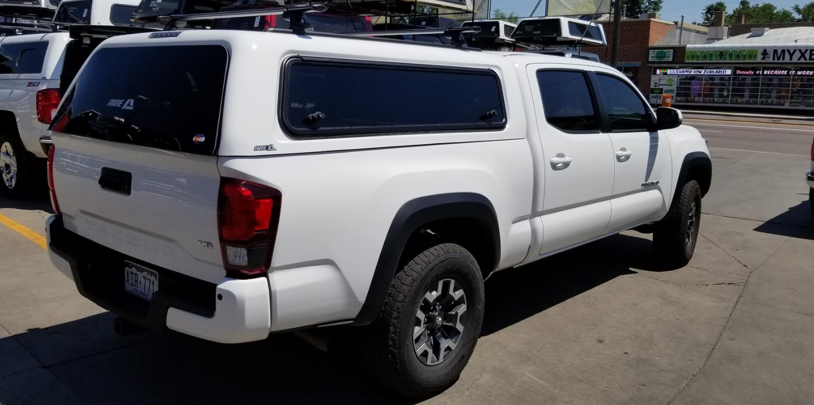Colorado Springs Toyota >> 2018 Tacoma, ARE CX-Evolve - Suburban Toppers