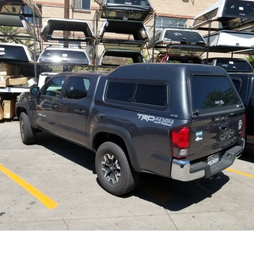 Toyota Of Lakewood >> 2018-TACOMA-USED-CAMPER-SHELL-GRAY-ARE-MX-SERIES - Suburban Toppers