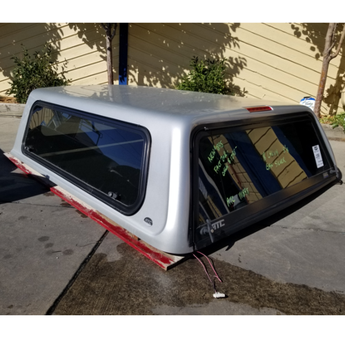 Chevrolet Camper Shell: 2018-chevy-atc-camper-shell-silver