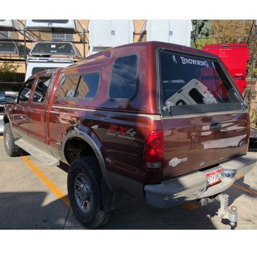 Truck Bed Accessories >> 2008-ford-superduty-truck-used-camper-shell - Suburban Toppers