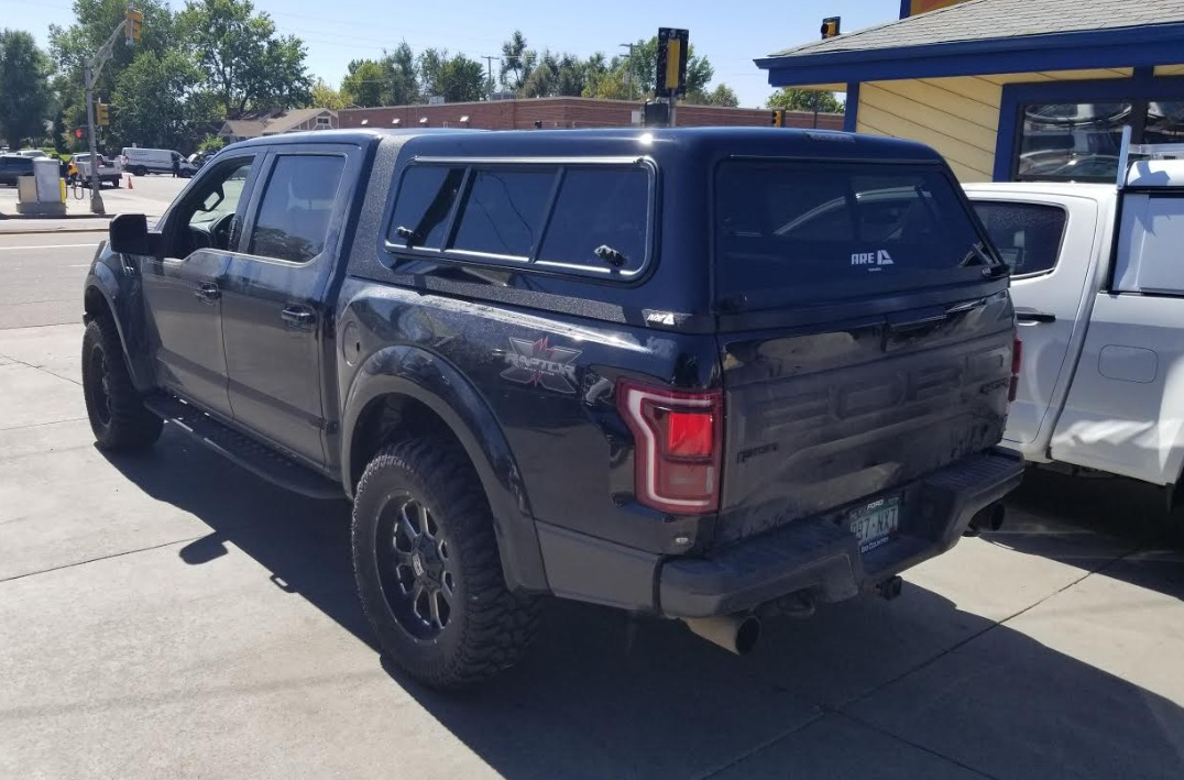 ford raptor  overland suburban toppers
