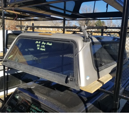 Chevrolet Camper Shell: 04-14-chevy-colorado-used-atc-camper-shell